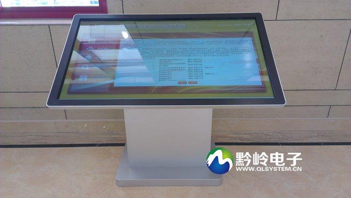 贵州省政府政务中心55寸触摸查询一体机