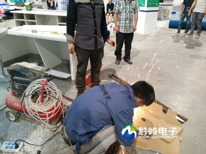 黔岭拼接屏强力助阵2015贵阳大数据博览会(贵阳会展城)