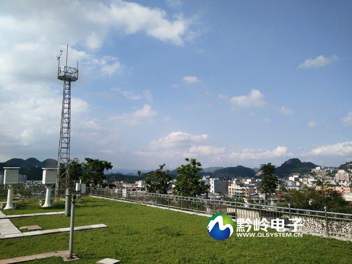 贵州省普定县气象局55寸3x3拼接屏调试完毕