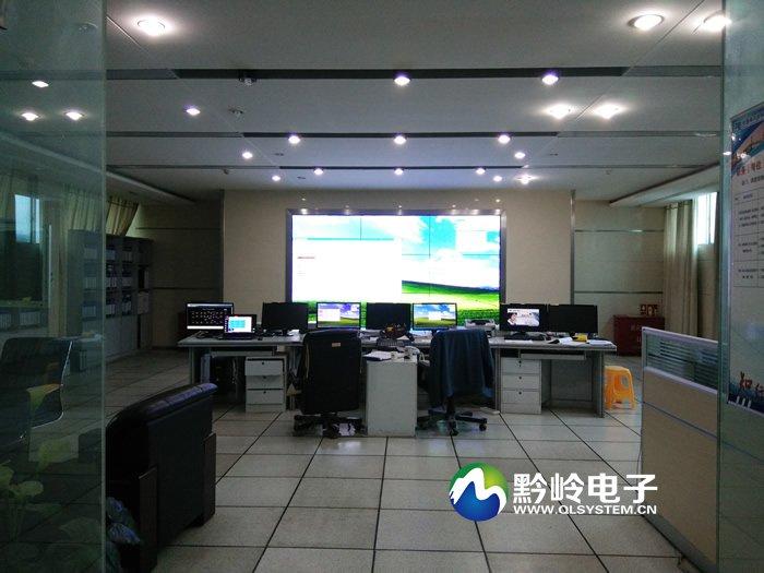 南方电网修文县供电局监控中心3x3液晶拼接大屏完美竣工