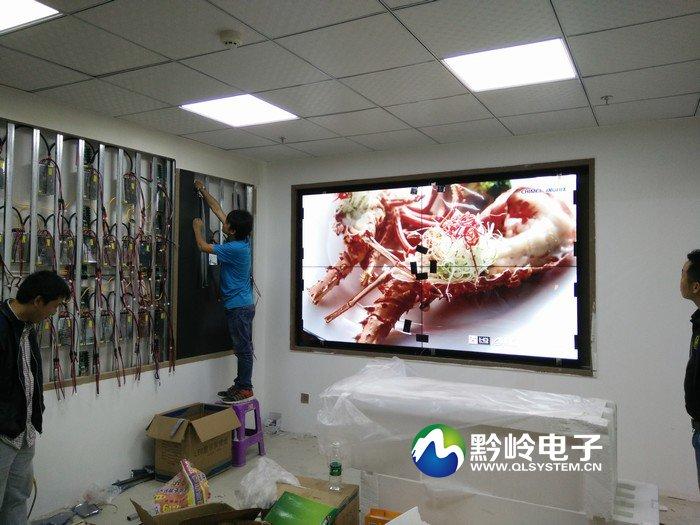 购诺企业集团展厅P3 LED屏及2x2拼接屏完工